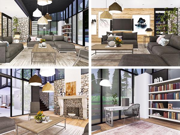 Sims 4 Lucio house by Rirann at TSR