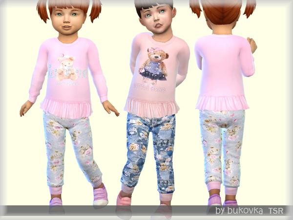 Sims 4 Little Bear Set by bukovka at TSR