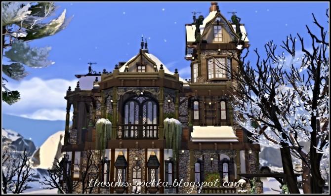 Sims 4 Shadow of Tomorrow house at Petka Falcora