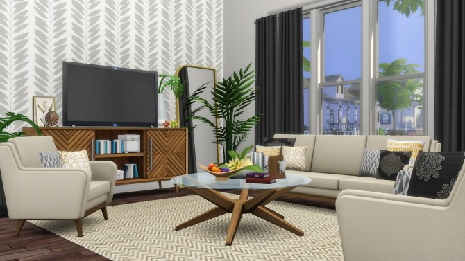 Kalagan Contemporary Seating at Simsational Designs image 2192 670x377 Sims 4 Updates