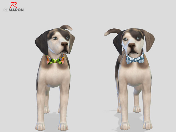 Tie for small dogs by remaron at TSR image 220 Sims 4 Updates