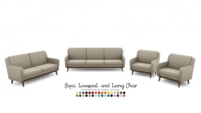 Kalagan Contemporary Seating at Simsational Designs image 22110 670x377 Sims 4 Updates