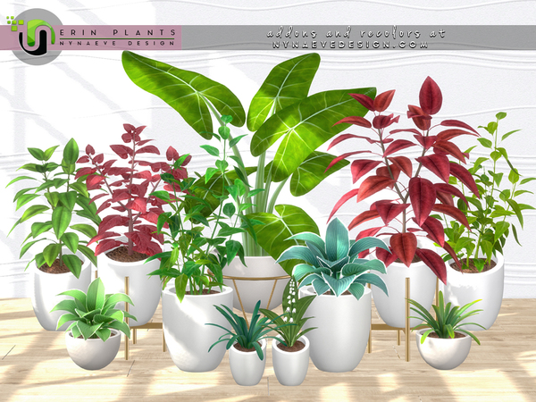 Erin Plants II by NynaeveDesign at TSR image 2225 Sims 4 Updates