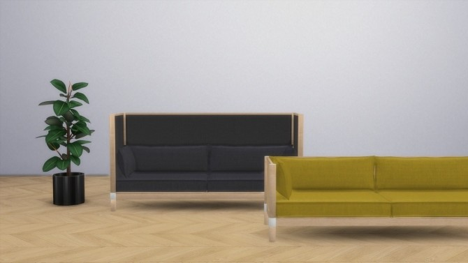 CYL SOFA (P) at Meinkatz Creations image 2251 670x377 Sims 4 Updates