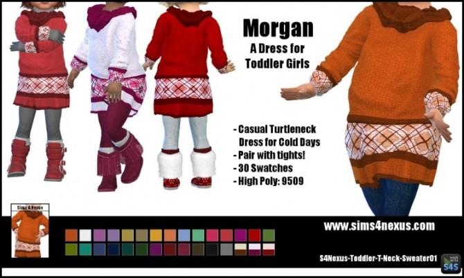 Sims 4 Morgan dress by SamanthaGump at Sims 4 Nexus