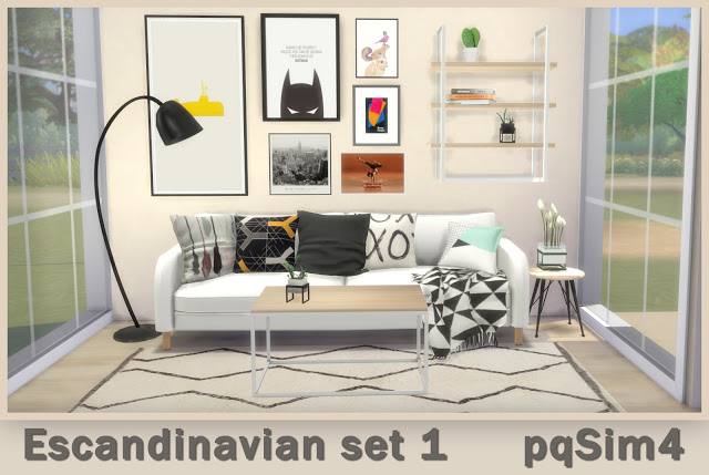 Scandinavian Set 1 at pqSims4 image 2401 Sims 4 Updates