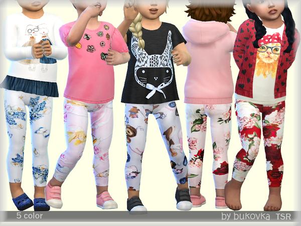 Leggings by bukovka at TSR image 2410 Sims 4 Updates