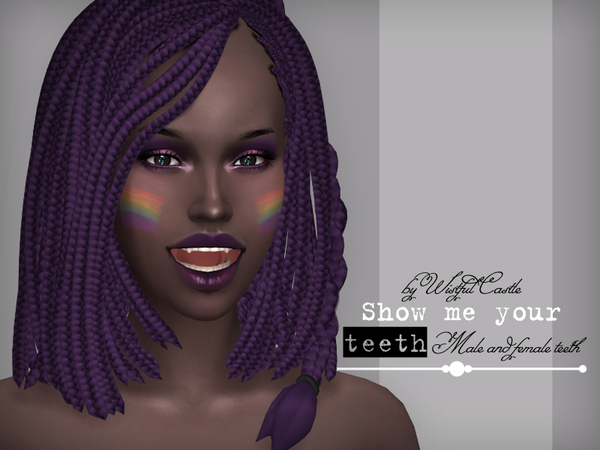 SMYT teeth set by WistfulCastle at TSR image 2416 Sims 4 Updates