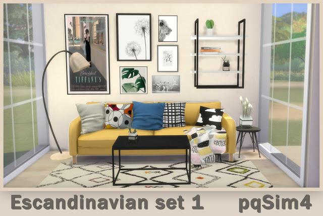 Scandinavian Set 1 at pqSims4 image 2418 Sims 4 Updates