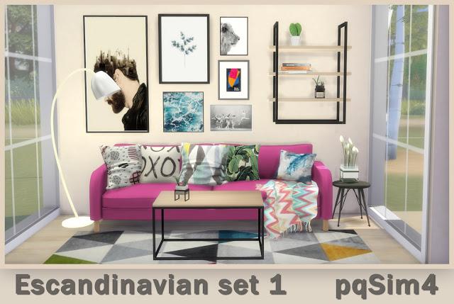 Scandinavian Set 1 at pqSims4 image 2431 Sims 4 Updates