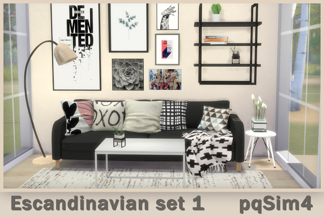 Scandinavian Set 1 at pqSims4 image 2441 Sims 4 Updates