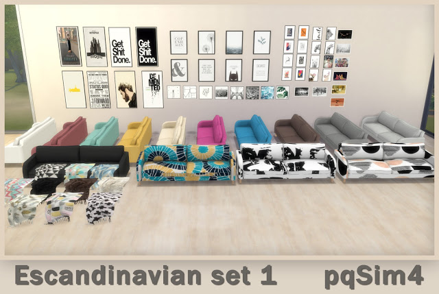 Scandinavian Set 1 at pqSims4 image 2451 Sims 4 Updates