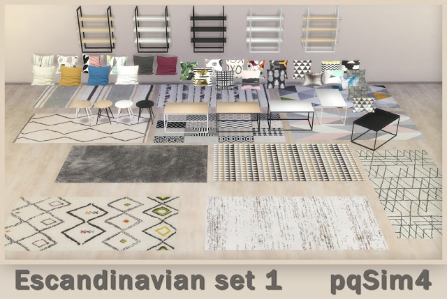Scandinavian Set 1 at pqSims4 image 2461 Sims 4 Updates