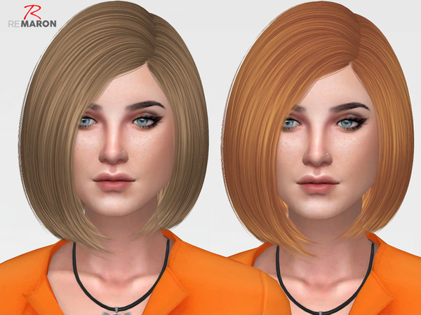 Sims 4 Sandy Hair Retexture by remaron at TSR