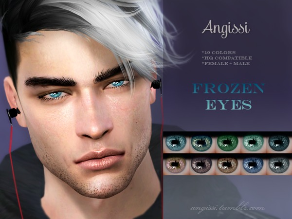 Frozen Eyes by ANGISSI at TSR image 249 Sims 4 Updates