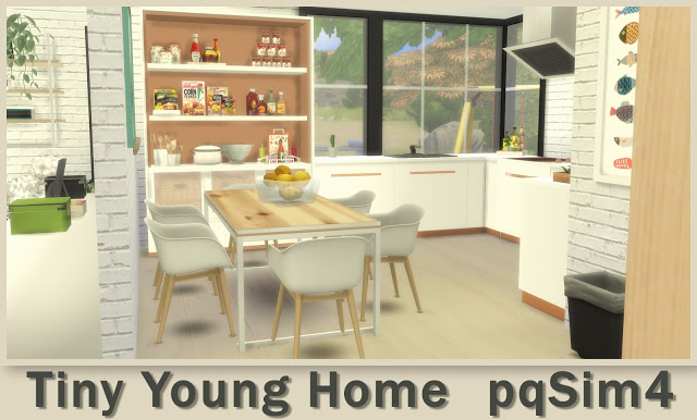 Tiny Young Home at pqSims4 image 2491 Sims 4 Updates