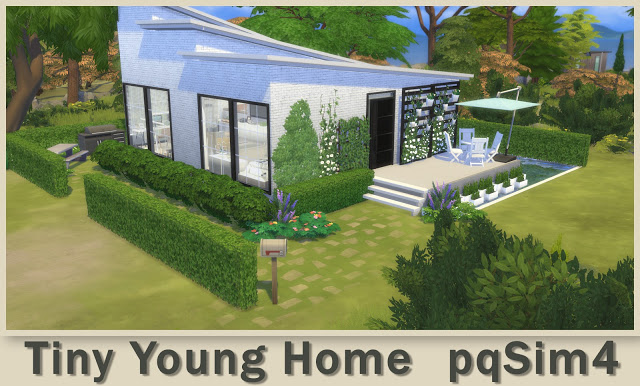 Tiny Young Home at pqSims4 image 2501 Sims 4 Updates