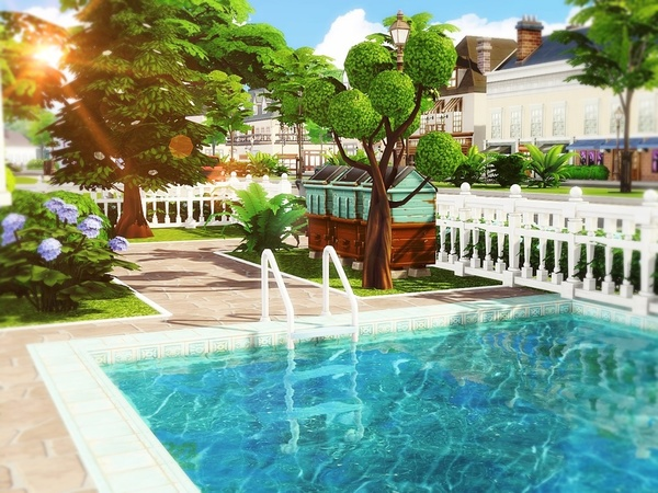 Classic Beauty 2 house by MychQQQ at TSR image 251 Sims 4 Updates
