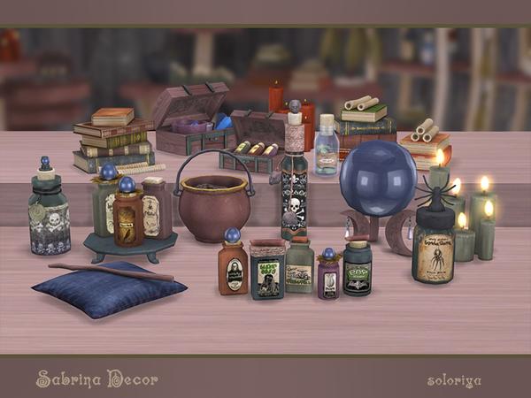 Sabrina Decor by soloriya at TSR image 2510 Sims 4 Updates