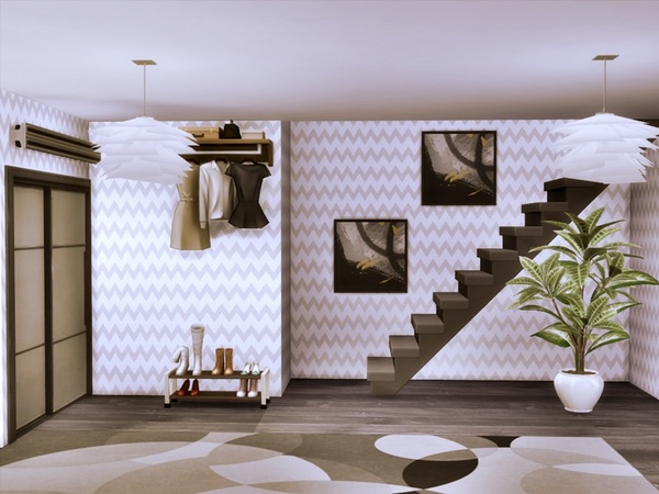 ODON modern home by marychabb at TSR image 2517 Sims 4 Updates