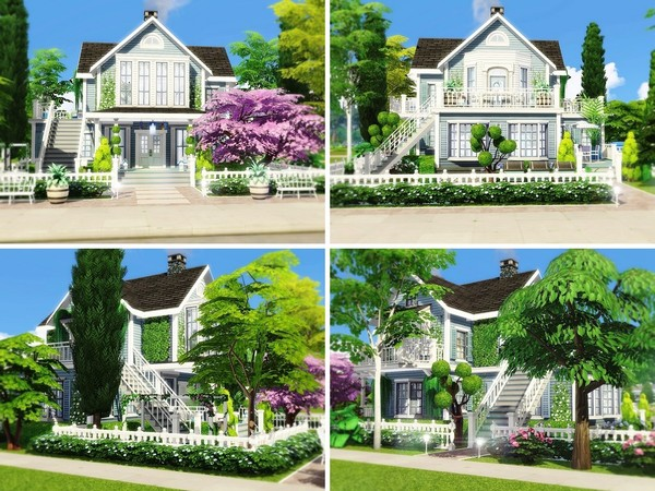 Classic Beauty 2 house by MychQQQ at TSR image 261 Sims 4 Updates