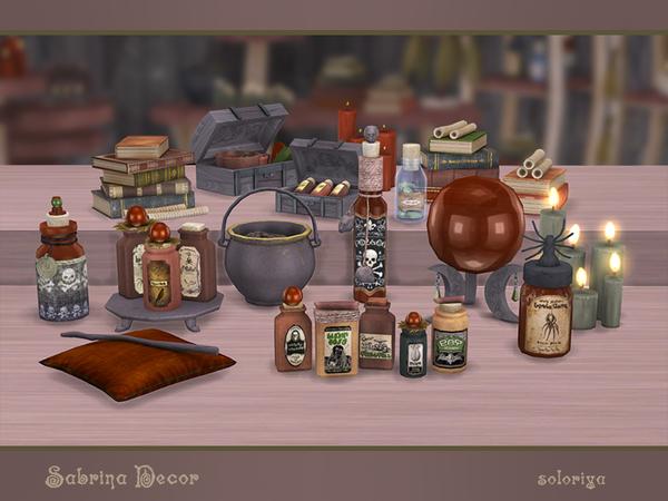 Sabrina Decor by soloriya at TSR image 2610 Sims 4 Updates