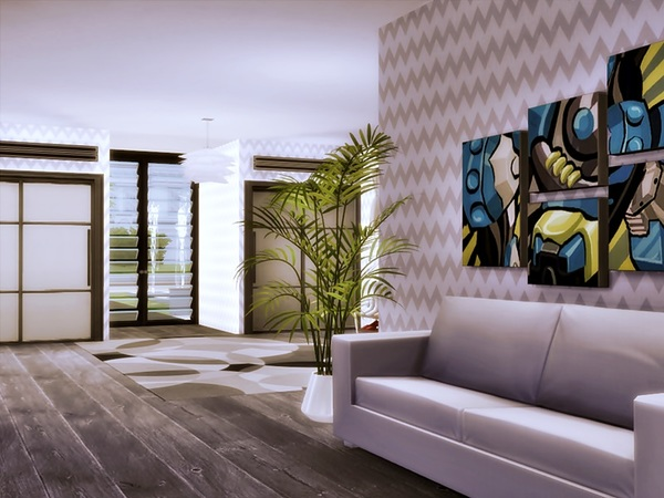 ODON modern home by marychabb at TSR image 2617 Sims 4 Updates