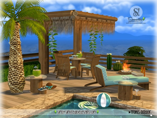 Tropics outdoor by SIMcredible at TSR image 2624 Sims 4 Updates