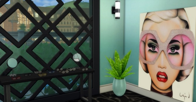 Sims 4 TrendEye Opticians by harlequin eyes at Mod The Sims