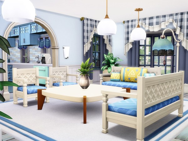 Classic Beauty 2 house by MychQQQ at TSR image 271 Sims 4 Updates