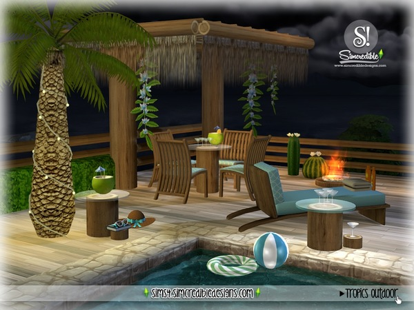 Tropics outdoor by SIMcredible at TSR image 2724 Sims 4 Updates