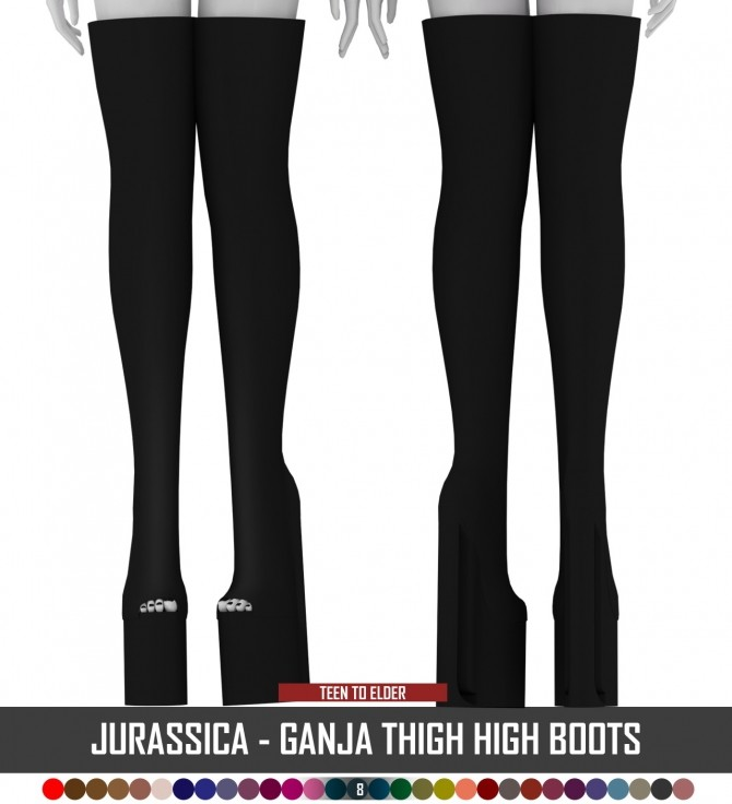 Sims 4 JURASSICA SHOES PACK TS3 TO TS4 + SLIDER by Thiago Mitchell at REDHEADSIMS