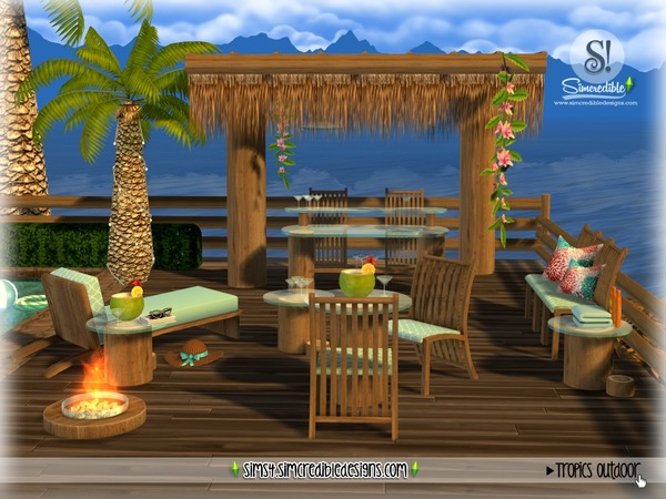 Tropics outdoor by SIMcredible at TSR image 2824 Sims 4 Updates