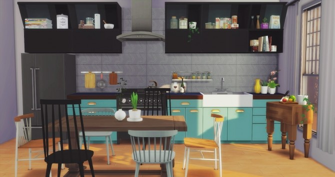Foster Kitchen at Pyszny Design image 2851 670x355 Sims 4 Updates