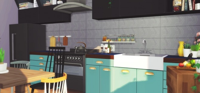 Foster Kitchen at Pyszny Design image 2861 670x314 Sims 4 Updates