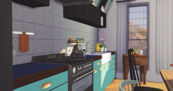 Foster Kitchen at Pyszny Design image 2871 670x355 Sims 4 Updates