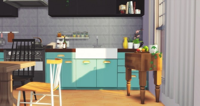 Foster Kitchen at Pyszny Design image 2881 670x355 Sims 4 Updates