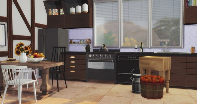 Foster Kitchen at Pyszny Design image 2901 670x355 Sims 4 Updates