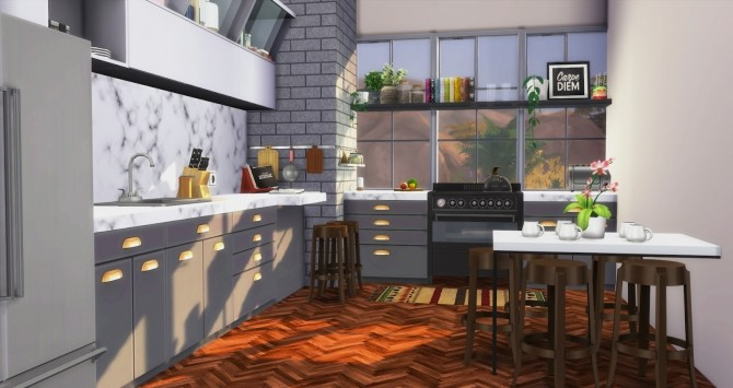 Foster Kitchen at Pyszny Design image 2921 670x355 Sims 4 Updates