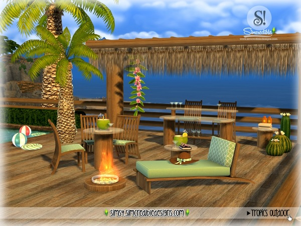 Tropics outdoor by SIMcredible at TSR image 2923 Sims 4 Updates