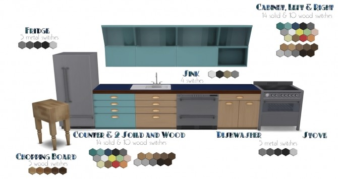 Foster Kitchen at Pyszny Design image 2931 670x355 Sims 4 Updates
