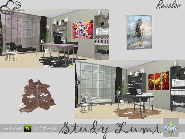 Study Lumi Recolor by BuffSumm at TSR image 299 Sims 4 Updates
