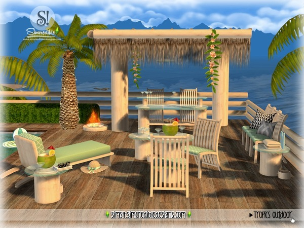 Tropics outdoor by SIMcredible at TSR image 3023 Sims 4 Updates