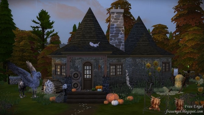 Hagrids Hut at Frau Engel image 3051 670x377 Sims 4 Updates