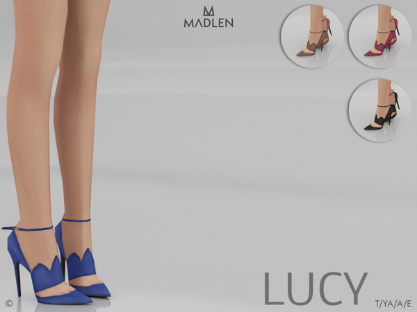 Sims 4 Madlen Lucy Shoes by MJ95 at TSR