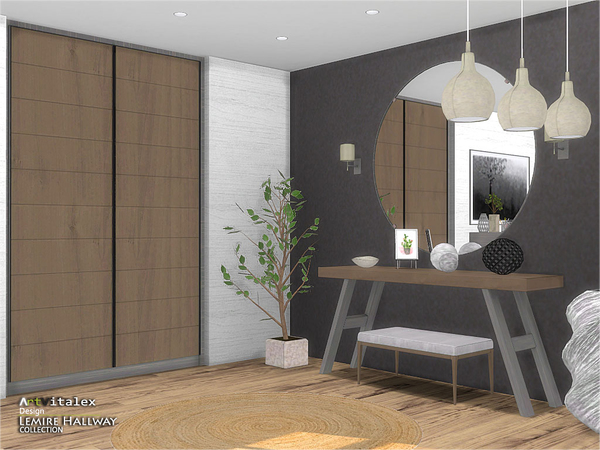 Lemire Hallway by ArtVitalex at TSR image 3117 Sims 4 Updates