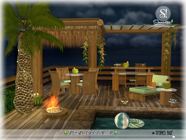 Tropics bar by SIMcredible at TSR image 3123 Sims 4 Updates