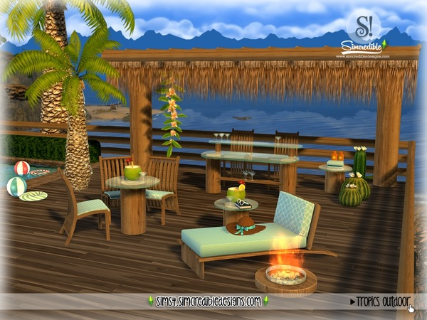Tropics outdoor by SIMcredible at TSR image 3126 Sims 4 Updates