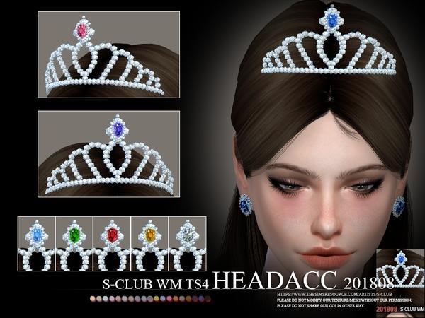 Tiara Headacc F 201808 by S Club WM at TSR image 3211 Sims 4 Updates