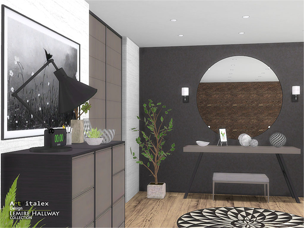 Lemire Hallway by ArtVitalex at TSR image 3215 Sims 4 Updates